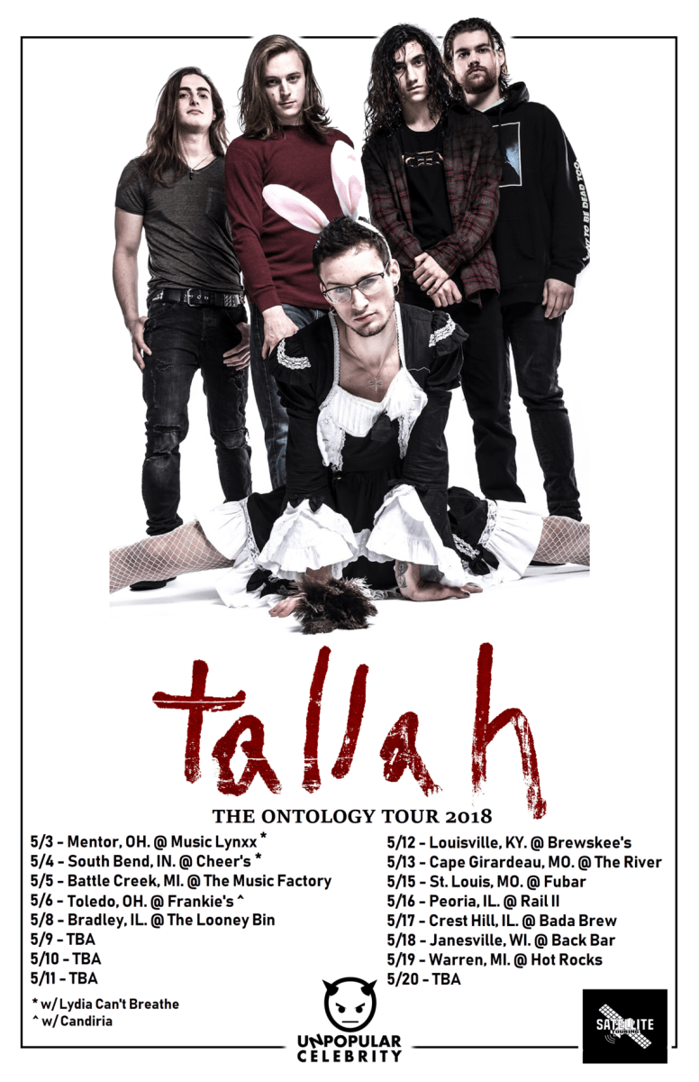 Tallah Featuring Max Portnoy and YouTube Sensation Justin Bonitz Announced The Ontology Tour