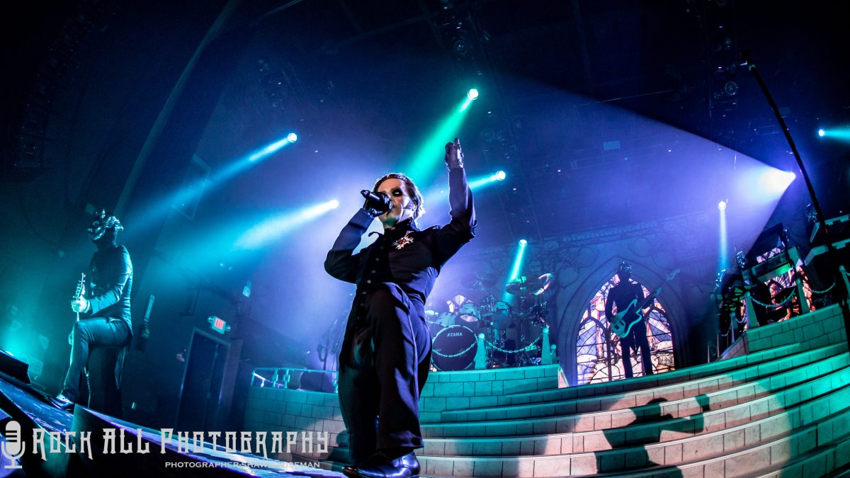 GHOST - Death and Rebirth! Show review and photo's of Ghost in Columbus, Ohio!