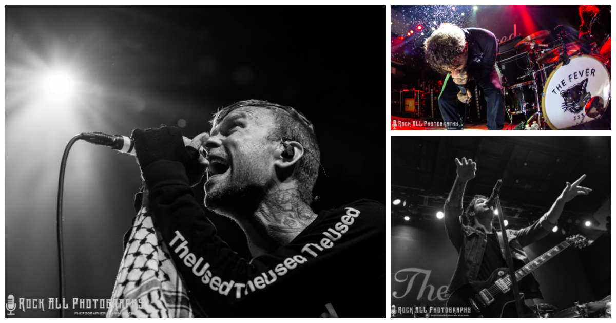 Oh What A Show! The Used, Red Sun Rising, and The Fever 333 at the Mercury Ballroom in Louisville, KY