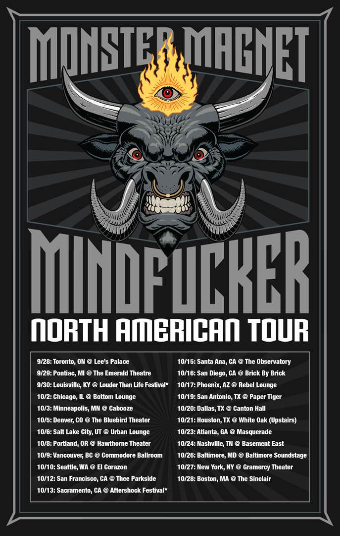 MONSTER MAGNET Announces North American Tour