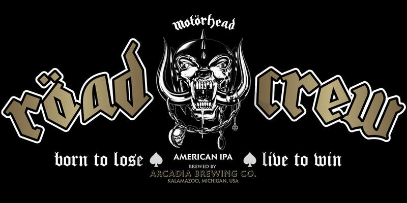 MOTÖRHEAD to Release Official RÖAD CREW Beer in the United States on June 23