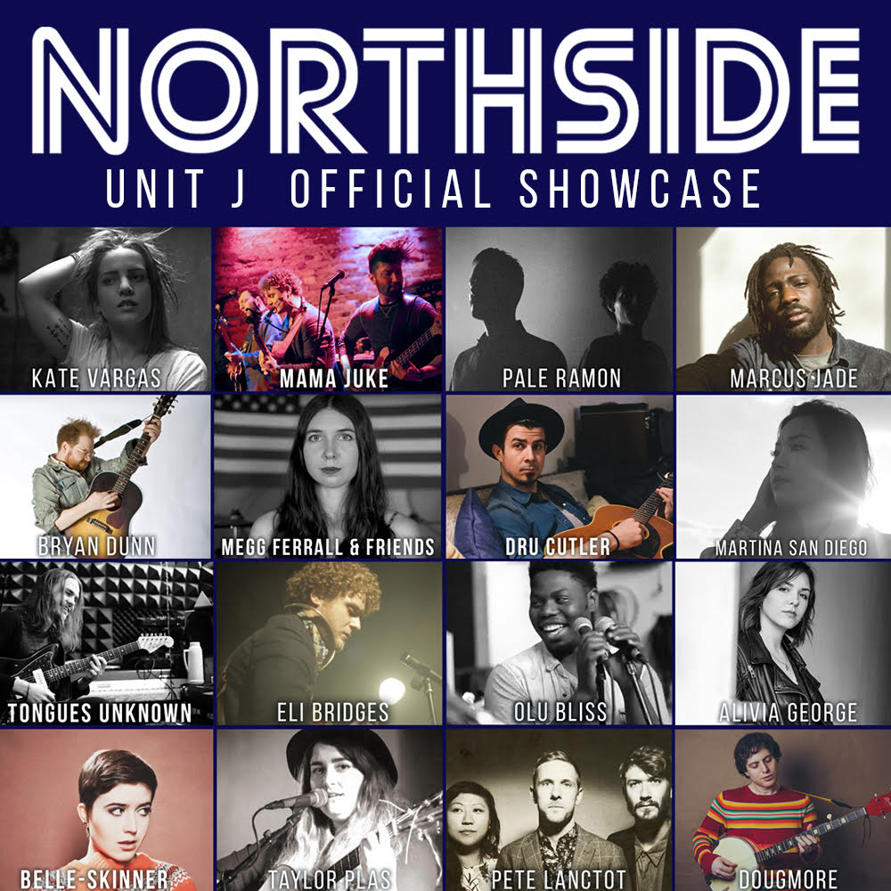 Unit J showcases a full night of Brooklyn's best artists as part of Northside Festival