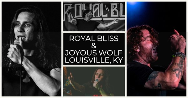 Joyous Wolf and Royal Bliss shook things up in Louisville, KY! Show review and photos!
