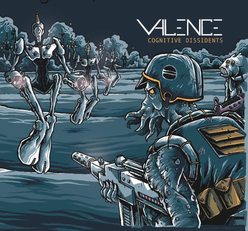"Eclectic Progressive Metal Quartet VALENCE to Release New Album, ""Cognitive Dissidents"", on April 12, 2019"