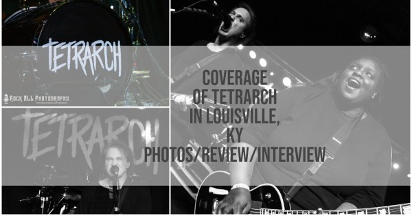 Breakout Metal Band Tetrarch Slayed The Tiger Room in Louisville, KY!