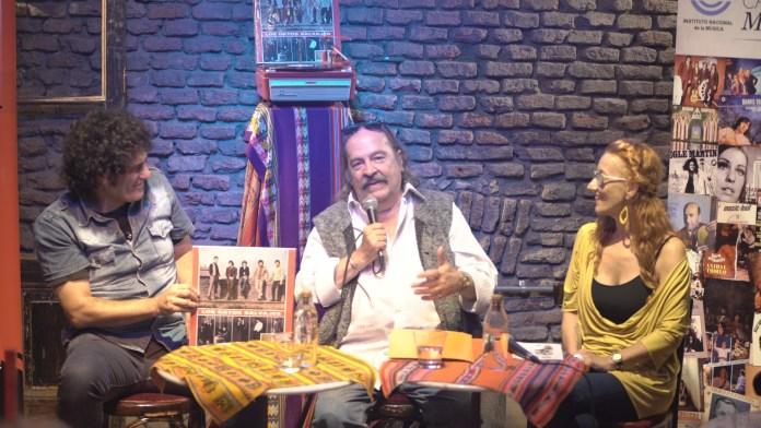Diego Boris, Litto Nebbia y Celsa Mel Gowland (Cortesía INAMU)