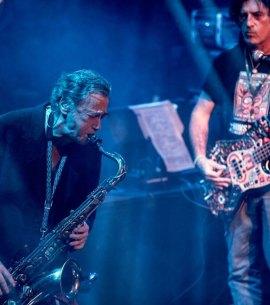 Sergio Dawi y Semilla Bucciarelli. Foto: Edgardo Kevorkian/Kermesse Redonda