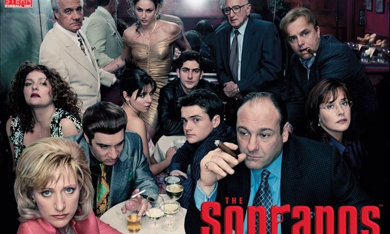 """Imagen promocional de la serie Los Soprano, instigadora de lo que será la futura película """"The Many Saints of Newark"""""""