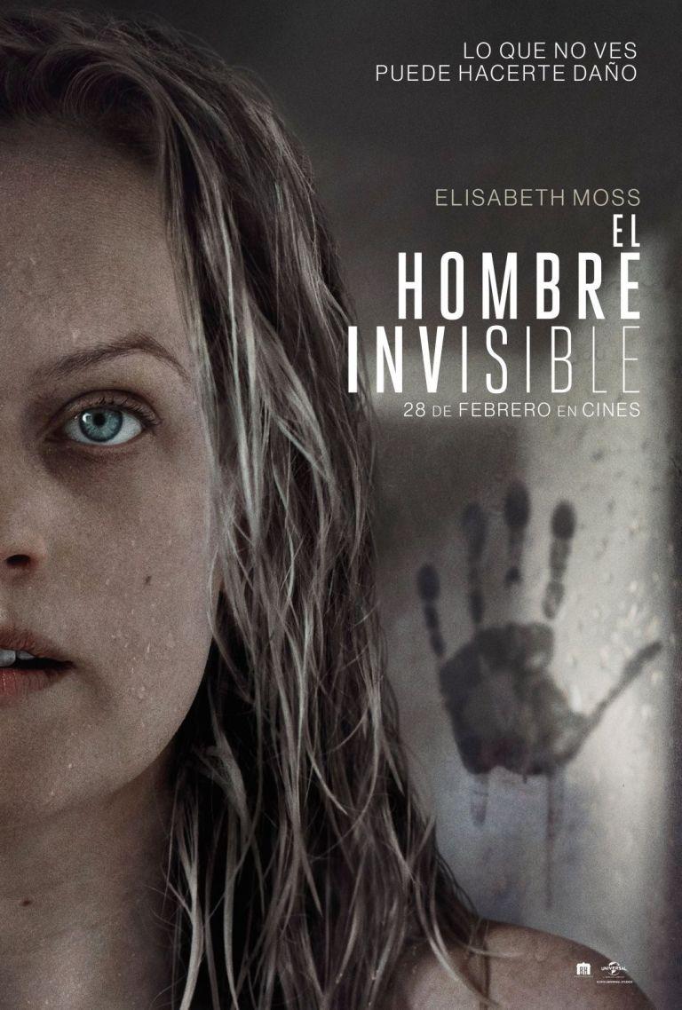 Películas recomendadas | Poster el hombre invisible 2020