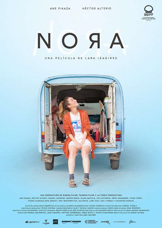 Cartel de la película Nora, de Lara Izagirre