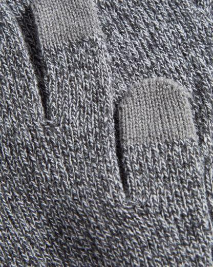 guantes de punto