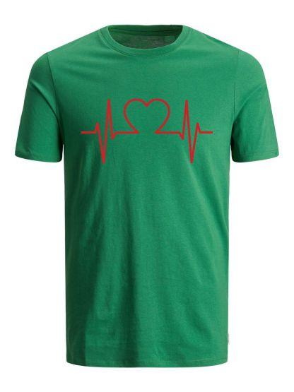 CAMISETA EKG HEART