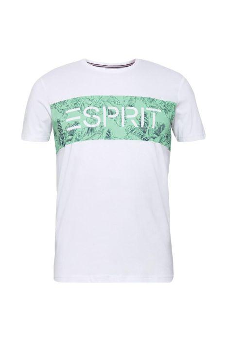 camiseta franja palmeras