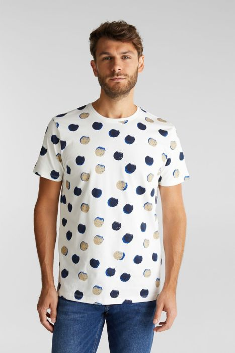camiseta estampado geometrico