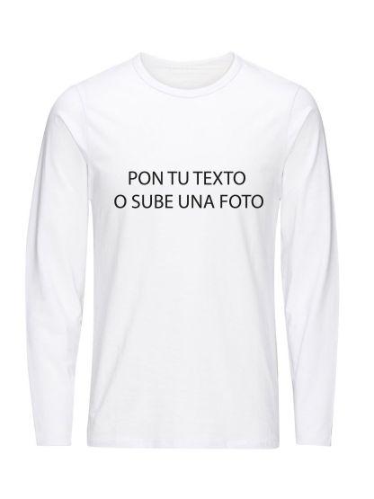 camiseta personalizable manga larga