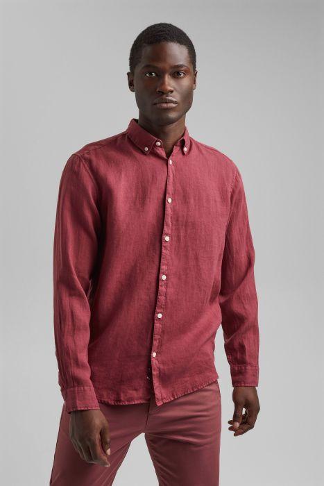 camisa de lino 100