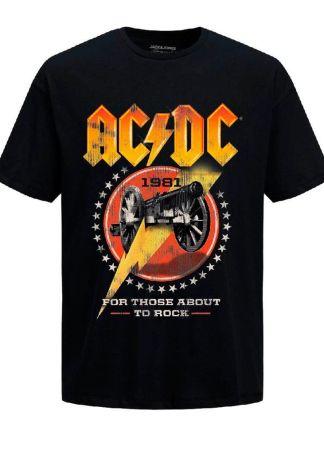 camiseta acdc 1981