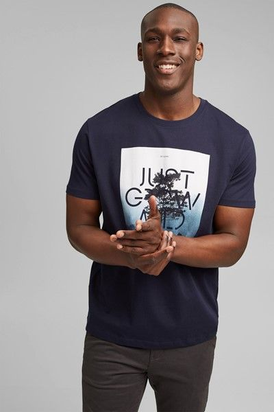 camiseta con estampado fotografico