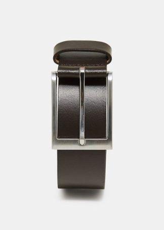 cinturón de piel lisa