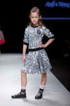 First art unisex sweater top for kids, toddler, boy and matching monochrome skirt for girls