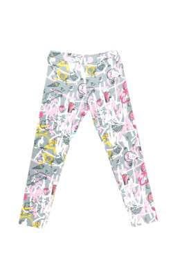 Pink expressions unisex leggings for kid, toddler, baby, girl, boy