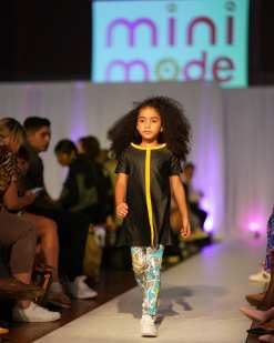 Leather look tunic-dress Alise for a girl, unisex forst art leggings for kids, toddlers, boys, girls