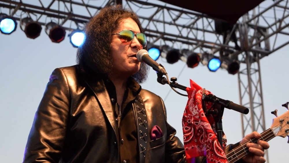 "Gene Simmons ""If I could, I would trademark the air you breathe"""