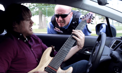 Funny video Guy plays Metal in inappropriate places