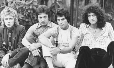 Queen band black and white