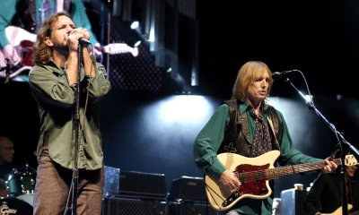 Tom Petty and Eddie Vedder