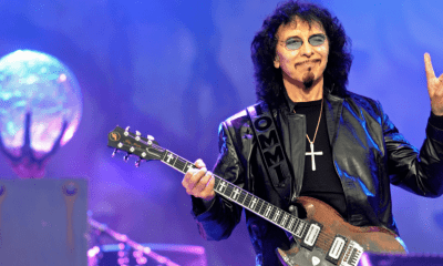 Tony Iommi horns