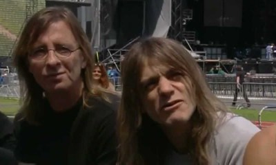 Back In Time: Malcolm Young tells a hilarious story about Bon Scott