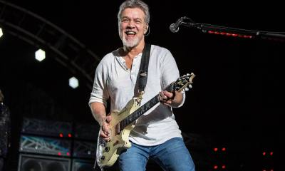 Eddie Van Halen playing