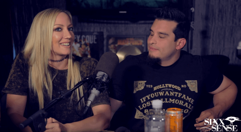 Nita Strauss and Josh V