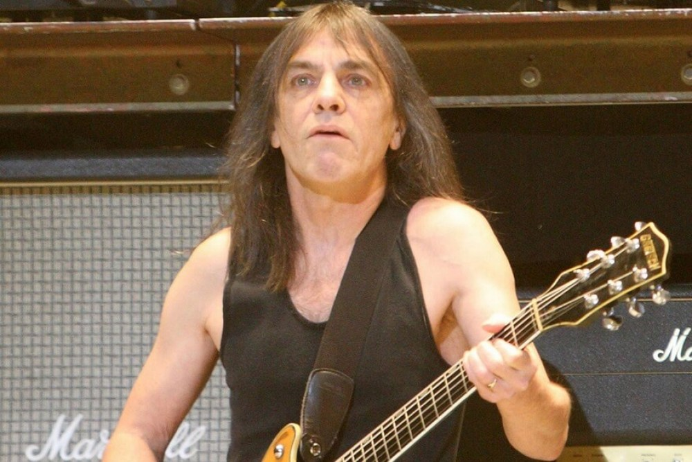 Malcolm young dies at age 64