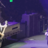 Krist Novoselic and Dave Grohl Foo Fighters concert