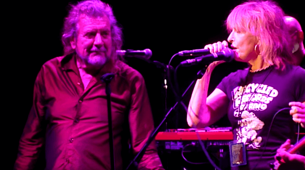 Watch Robert Plant and Chrissie Hynde performing together in London
