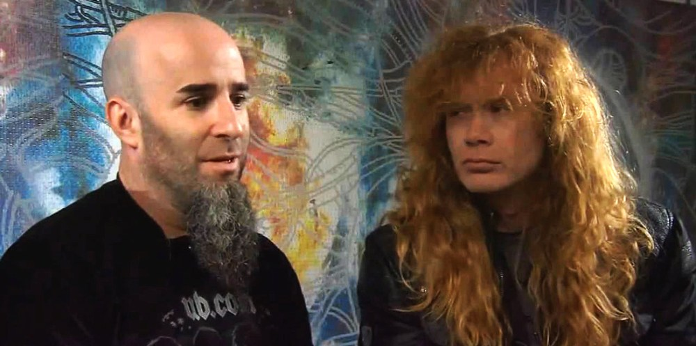 Dave Mustaine and Scott Ian
