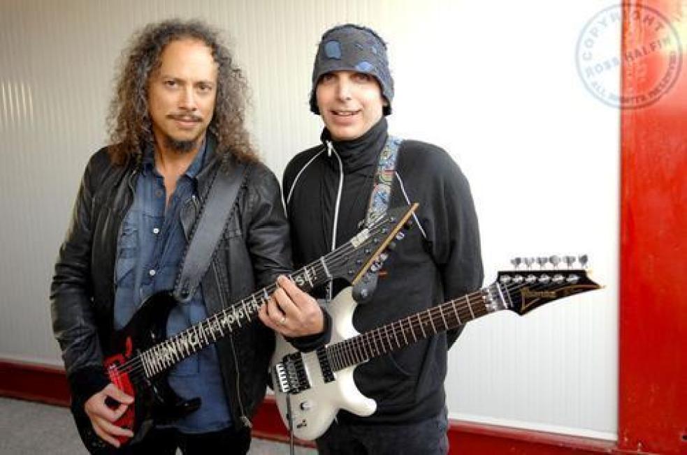 Kirk Hammett and Joe Satriani
