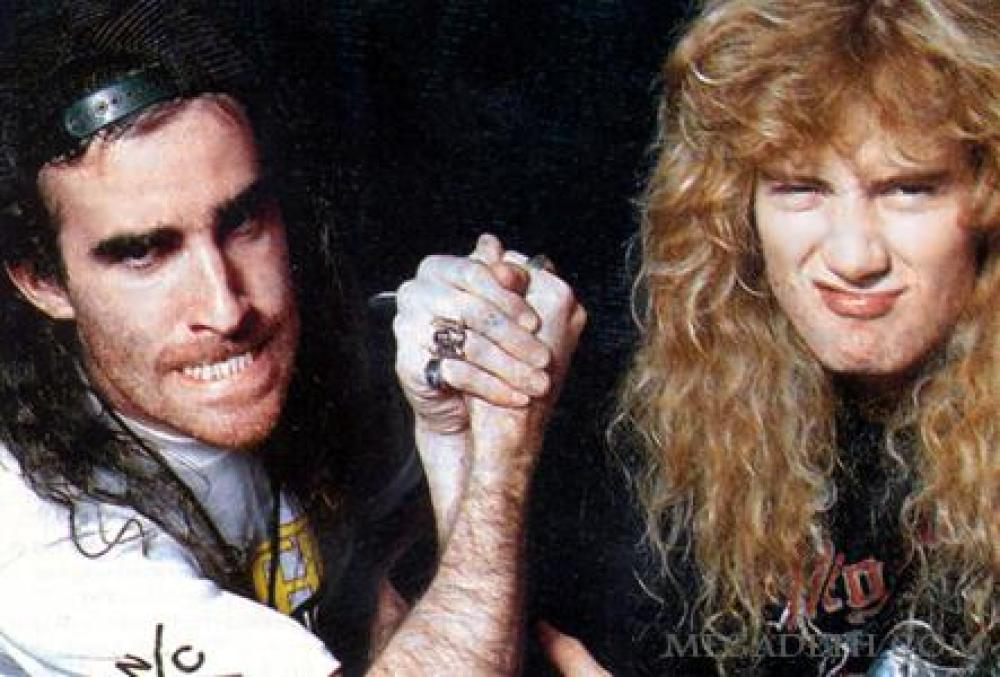 Scott Ian and Dave Mustaine