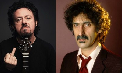 Steve Lukather and Frank Zappa