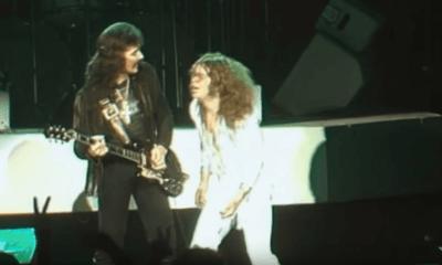 Tony Iommi and Ozzy Osbourne 1978