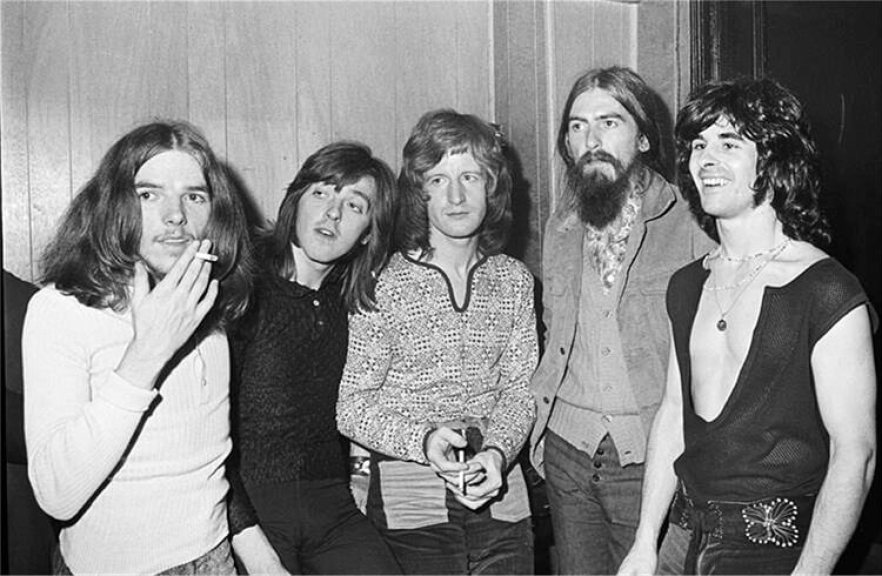badfinger with george harrison