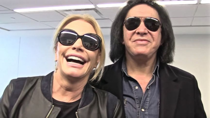 gene simmons and wife 2018