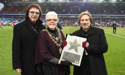 Black Sabbath's Geezer Butler is honored by Aston Villa