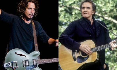 Chris Cornell and Johnny Cash