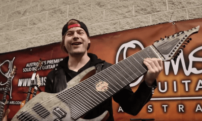 Meet the new 18-string guitar from Youtuber Jared Dines