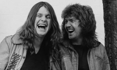 Ozzy Osbourne and Bob Daisley