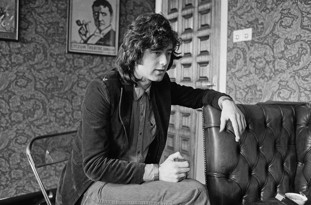 Jimmy Page talking