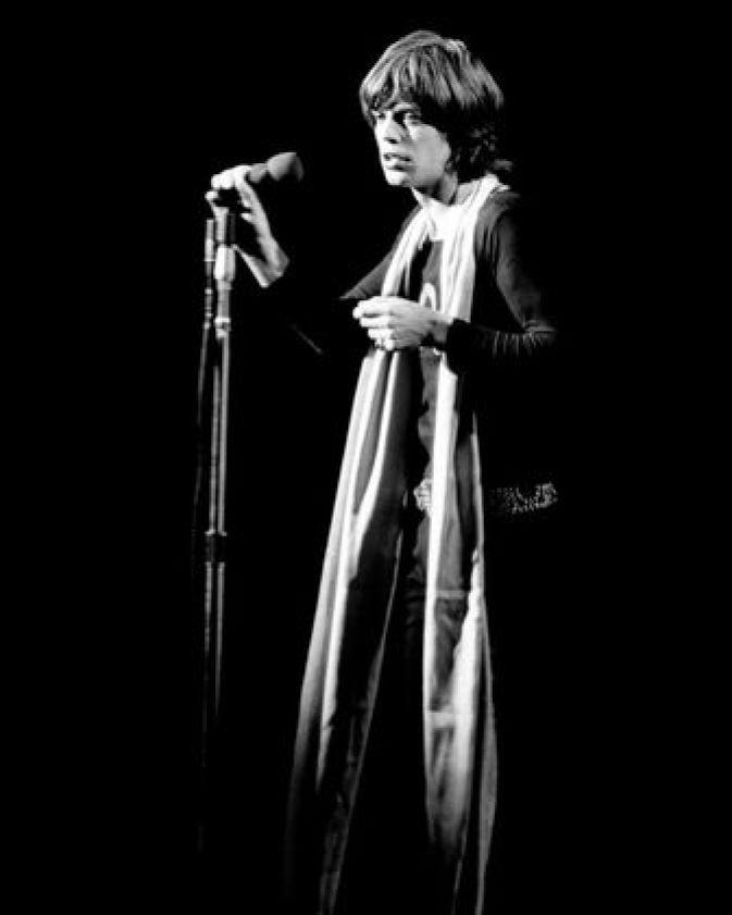 Mick Jagger lost photo